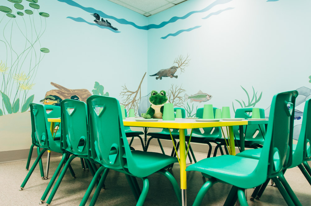 Playtown Pond party room
